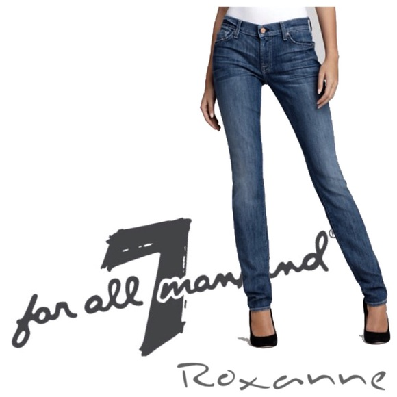 7 For All Mankind Denim - 7 for all Mankind FAM Roxanne Denim Skinny Jeans